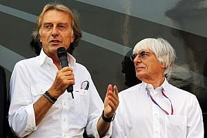 Formula 1 Commentary Montezemolo, Ecclestone 'will be friends again' - Briatore