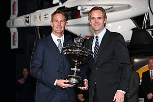 IndyCar Breaking news Hunter-Reay collects million dollar bonus as 2012 IndyCar Champion in Indianapolis