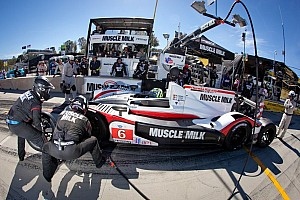 ALMS Breaking news Muscle Milk Pickett Racing:  Prepping for 2013 - video