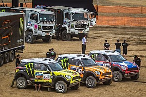 Dakar Breaking news X-raid Team energized for Dakar challenge - video
