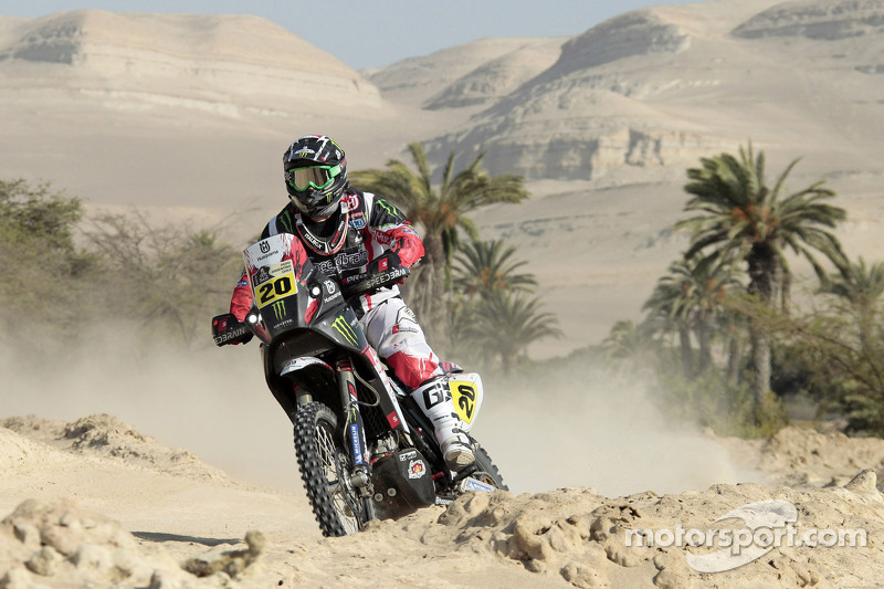 Another podium for Team Husqvarna as Goncalves is second in stage 3