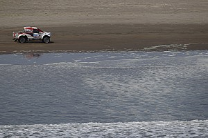 Dakar Stage report De Villiers consolidates third place after day five