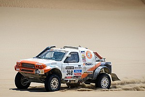 Dakar Stage report The glory turns to dust for G-Force Motorsport on stage 6