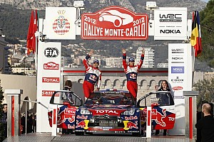 WRC Preview Monte-Carlo ushers in a new era for Citroën Total Abu Dhabi