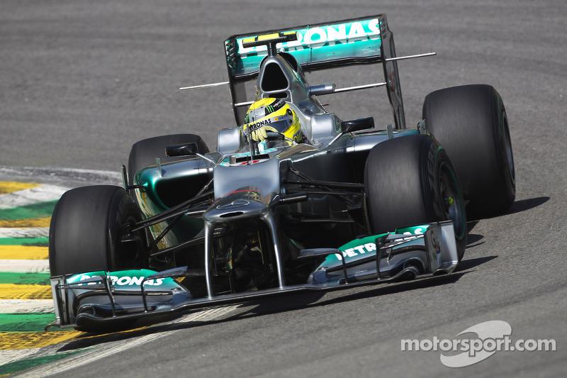 Rosberg faster than Vettel - Perez