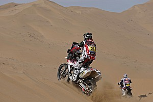 Dakar Stage report Goncalves moved into the top-10 overall on the 13th stage