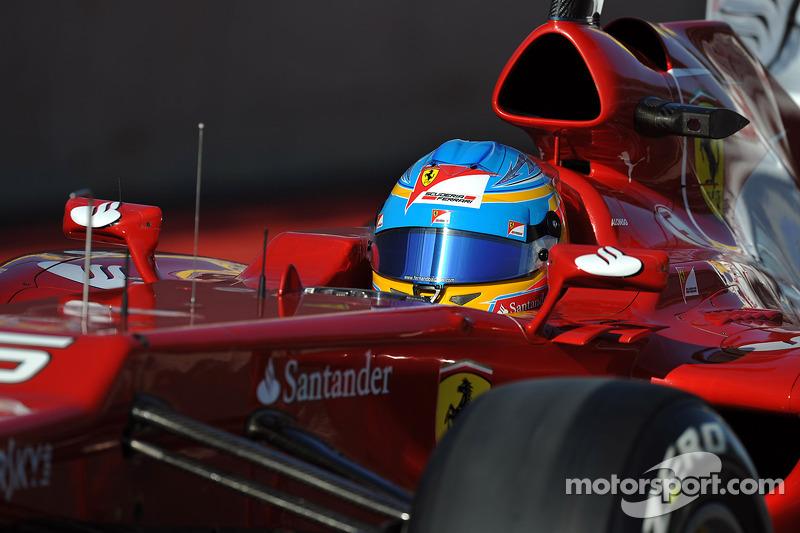 Ferrari's Alonso to sit out Jerez test