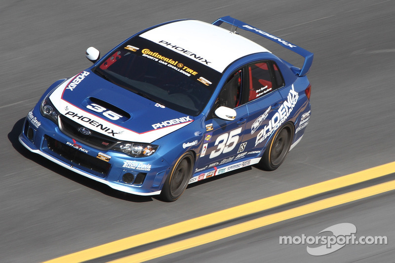 Spaude runs hard in final SCC race with Subaru