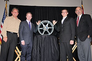 General Special feature Cliff White presented with annual RRDC Mark Donohue Award in Daytona