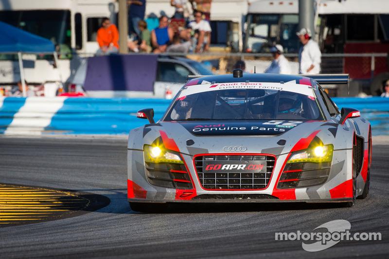 APR Motorsport narrowly misses GT class victory at Daytona 24H