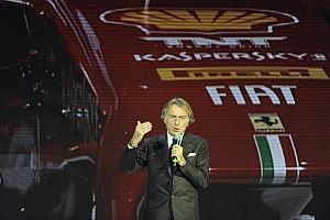 Formula 1 Breaking news Ferrari's Montezemolo: I defined this car as 'hopeful'