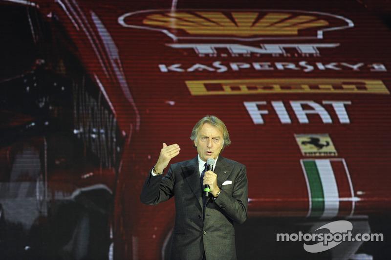 Ferrari's Montezemolo: I defined this car as 'hopeful'