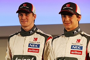 Formula 1 Interview Hülkenberg comments at the unvieling of new Sauber C32