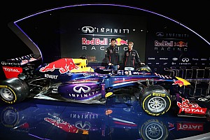 Formula 1 Breaking news Infiniti Red Bull Racing reveals title partnership and new livery