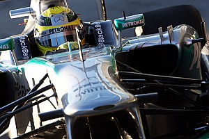 Formula 1 Testing report Mercedes and Rosberg end day 3 with progress at Jerez