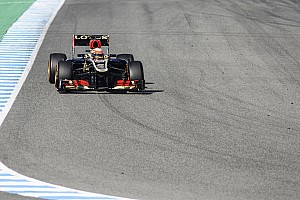 Formula 1 Testing report Lotus's drivers showed the speed of the E21 in Jerez test days