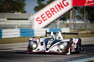 ALMS Testing report Muscle Milk Pickett Racing continues to sizzle at Sebring testing