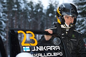 WRC Race report Nikara looks to Portugal as he rounds off Swedish Rally with strong stage times