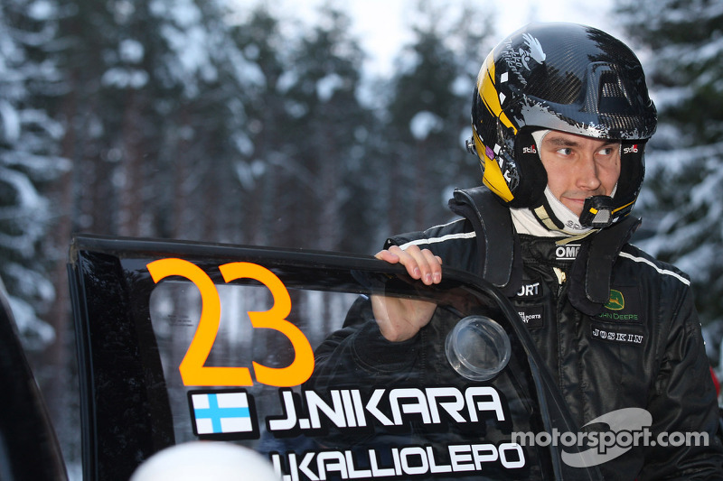 Nikara looks to Portugal as he rounds off Swedish Rally with strong stage times