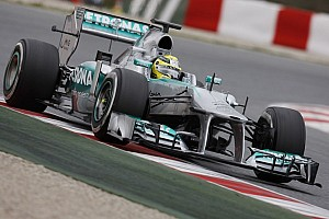 Formula 1 Testing report Rosberg sets fastest time on first day of testing in Barcelona