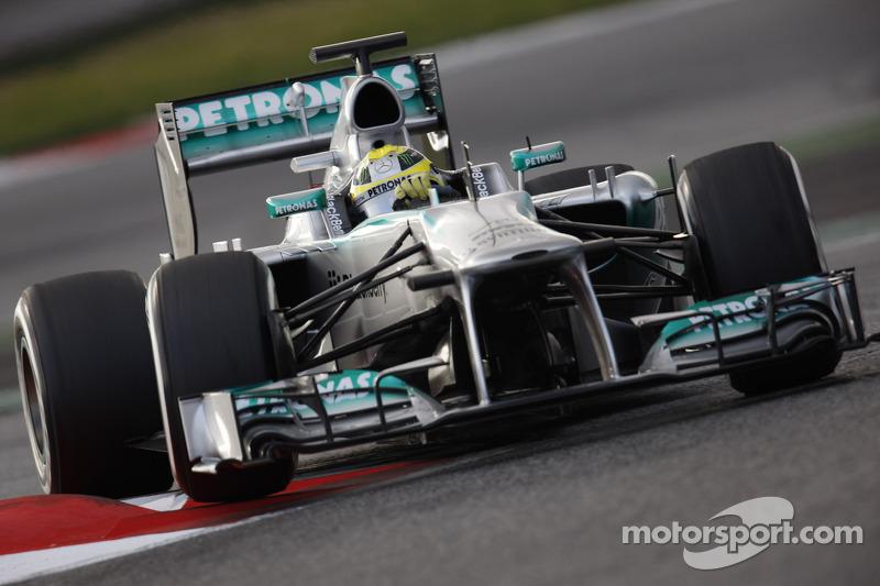 Rosberg sure Mercedes can be race winner in 2013