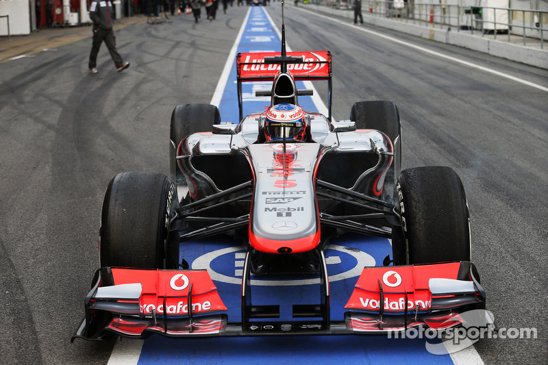 McLaren completed its Friday test program with second fastest lap at Circuit de Catalunya