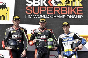 World Superbike Race report Laverty leads championship after first round in Australia