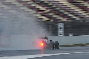 Formula 1 Breaking news Bad weather and car 'holes' for final winter test