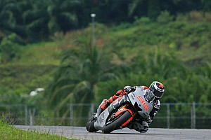 MotoGP Testing report Yamaha wraps up Sepang in challenging weather conditions