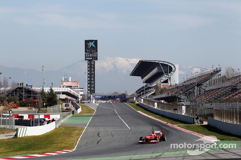 Last day of testing for Ferrari's Felipe Massa