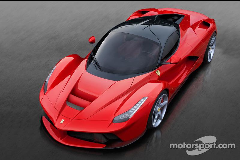 The LaFerrari unveiled at Geneva Auto Show