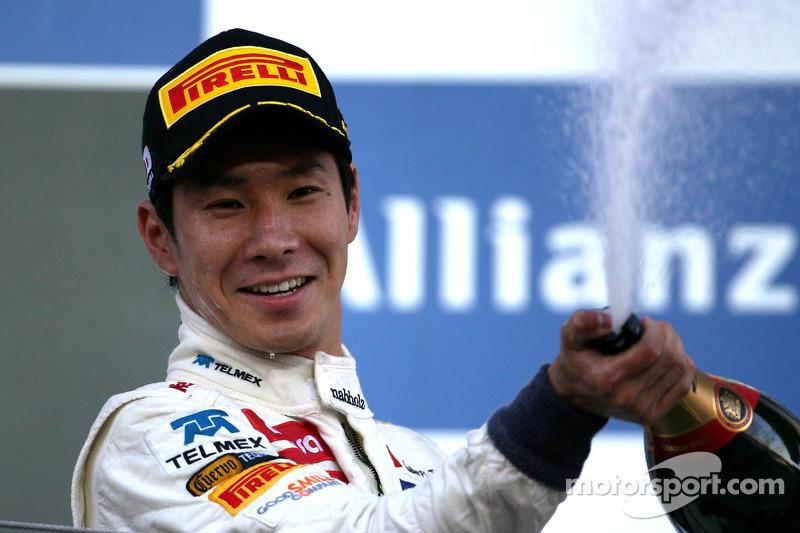 Kobayashi signs sports car deal with Ferrari