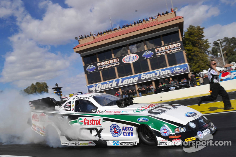 On the line in Florida: the Gatornationals