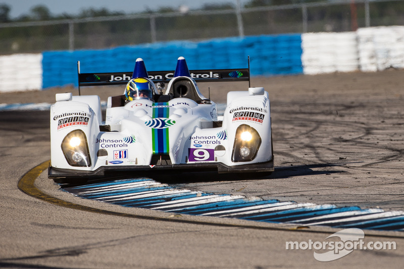Duncan Ende is happy he brought his helmet with him to Sebring