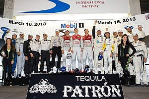 ALMS Race report Audi sweeps at Sebring with hybrid power