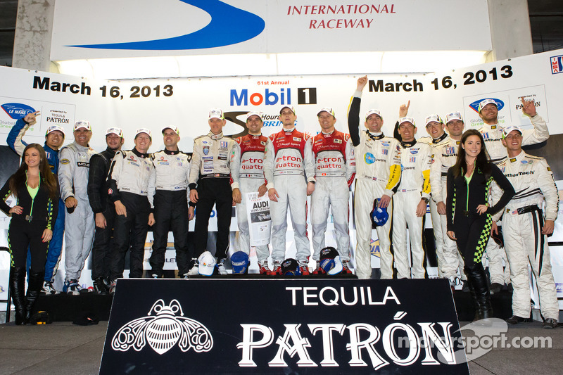 Audi sweeps at Sebring with hybrid power
