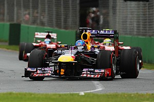 Formula 1 Race report Infiniti Red Bull Racing quotes for Melbourne race