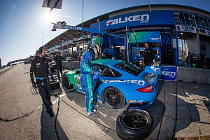 ALMS Race report Team Falken Tire earns GT podium finish at Sebring 12 Hour
