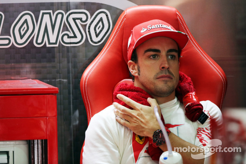 Alonso not fazed by Raikkonen's winning pace
