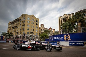 IndyCar Practice report Power leads the way in Friday practice on the streets of St. Pete