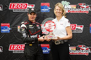 IndyCar Qualifying report Power claims first pole of the new season at St. Pete