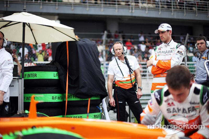 Wheel nuts ruined Malaysian GP for Sahara Force India