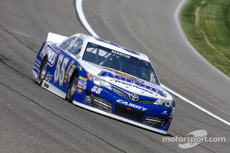 MWR's Martin will return to the #55 Toyota at Texas
