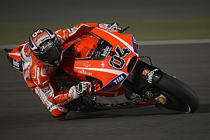 MotoGP Practice report Encouraging progress for Dovizioso and Hayden in Qatar free practice