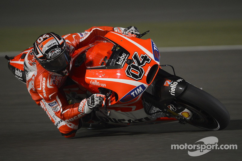 Encouraging progress for Dovizioso and Hayden in Qatar free practice