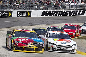 NASCAR Cup Race report Busch runs out of 'time' at Martinsville, finishes fifth