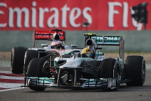 Formula 1 Race report Mercedes' Lewis started from pole and finished third placed in Shanghai