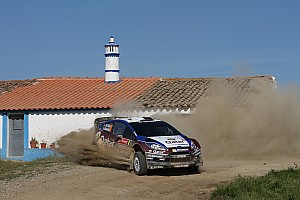 WRC Race report Top-five finish for Novikov and Al-Attiyah at Rally Portugal