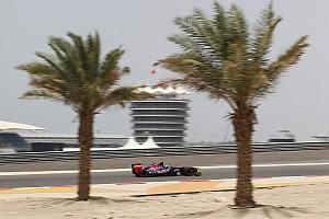 Formula 1 Practice report Satisfactory Friday practice for Toro Rosso at Sakhir