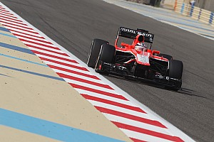 Formula 1 Practice report Gonzalez debut at Marussia on a tough Friday for the Bahrain GP
